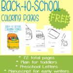 Free Back-to-School Coloring Pages