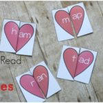 Free Learn to Read Heart Puzzles