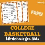 Free Basketball Worksheets
