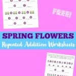 Free Flower Addition Worksheets