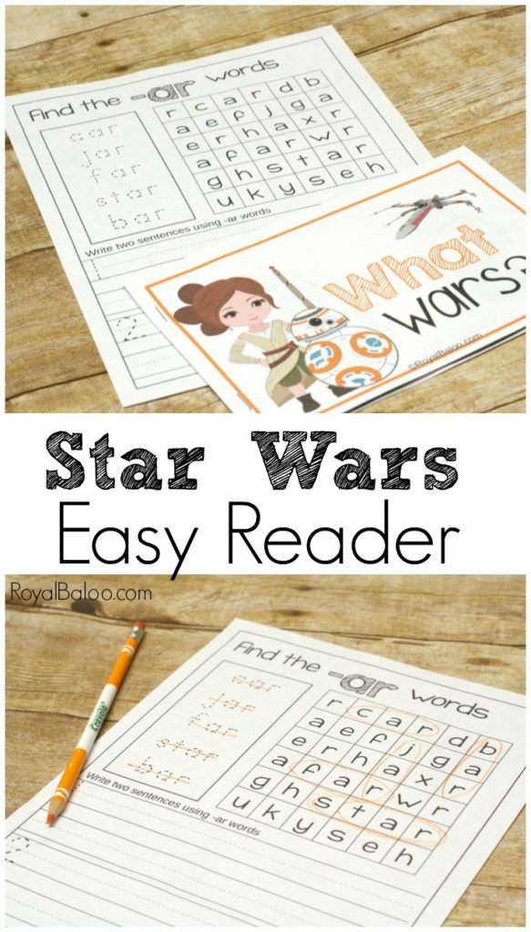 These Easy Readers are perfect for any Star Wars fans working on their reading skills! :: www.thriftyhomeschoolers.com