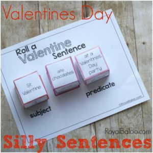Silly Sentences Valentine's Game