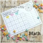 Valentine's Day Mini Eraser Math Pack