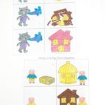 Free Three Little Pigs Painting Pages