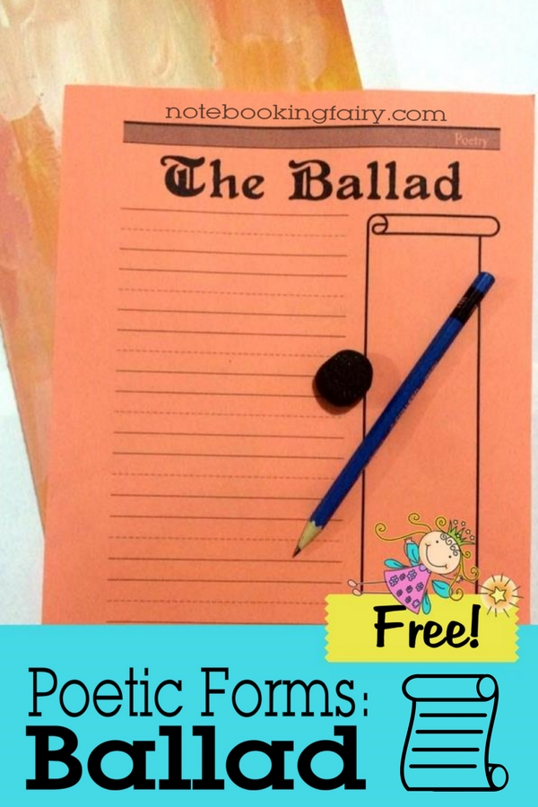 Learning about poetry can be difficult, but these notebooking pages make it a little more fun! Grab them now. :: www.thriftyhomeschoolers.com