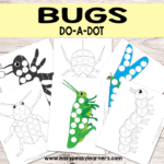 Free Bug Do-a-Dot Printables