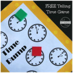 Time Telling Game Freebie