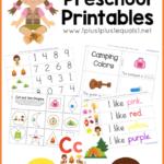 Camping Printables for Preschoolers