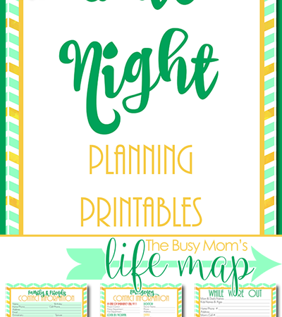 Date Night Planning Pages