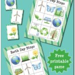 Free Earth Day BINGO printables