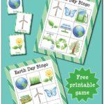 Free Earth Day BINGO printables