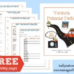 Vacation Planning Pack {free printables}