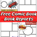 FREE Comic Strip Book Reports