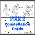 Printable Constellation Cards Freebie