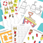 FREE PreK-K Summer Printable Pack