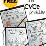 Digraph & CVCe Printables