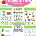 FREE Printable Garden Pack for PreK-K