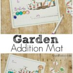 Free Garden Themed Addition Mats