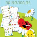 FREE Garden Preschool Printables