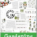 FREE Do-a-Dot Gardening Printables