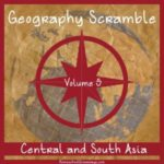 Free Geography Scramble Printable