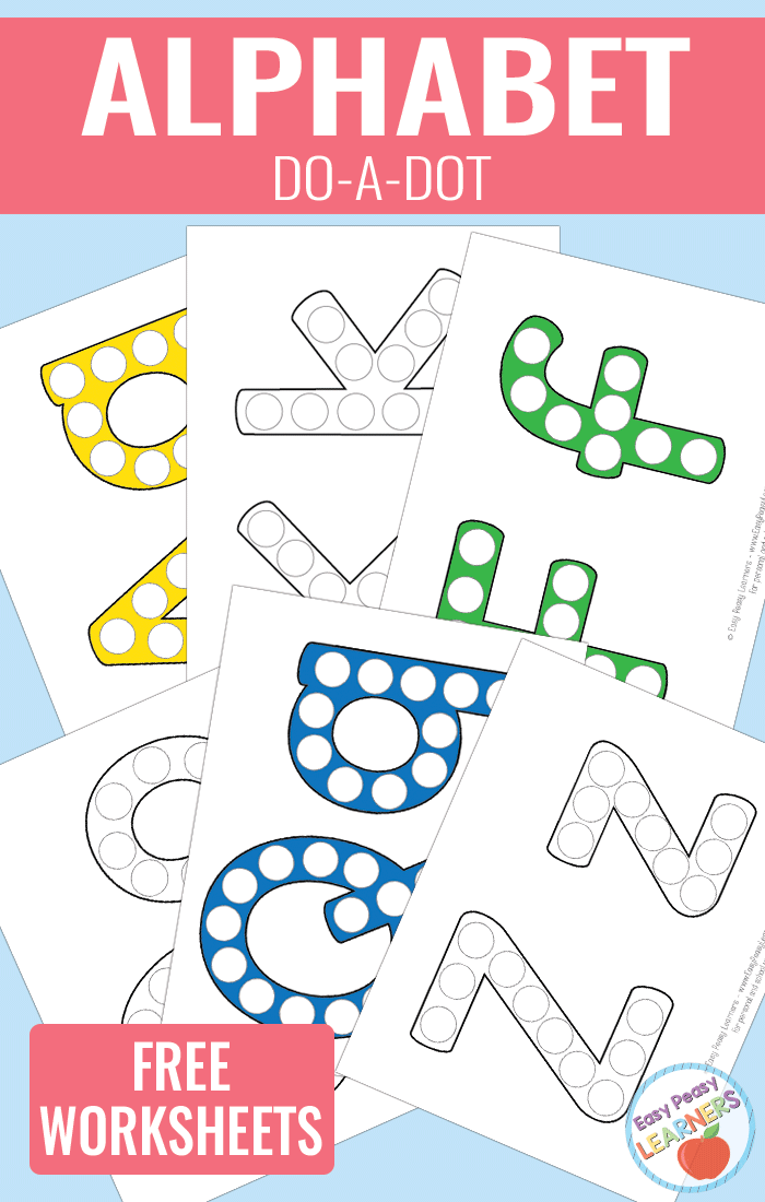 These free ABC do-a-dot printables are perfect for your little ones learning the alphabet, working on their fine motor skills or just for fun. :: www.thriftyhomeschoolers.com