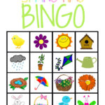 Free BINGO Printable for Spring