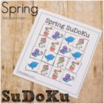 SuDoKu printables for Spring