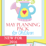 Free May Planning Pack for Kids