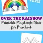 FREE Rainbow Playdough Mats