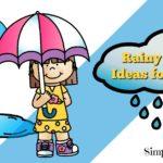 Free Rainy Day Printables