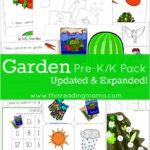 FREE PreK/K Gardening Pack
