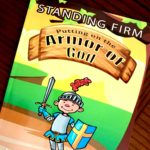 Bible Study About The Armor Of God for K – 2nd graders