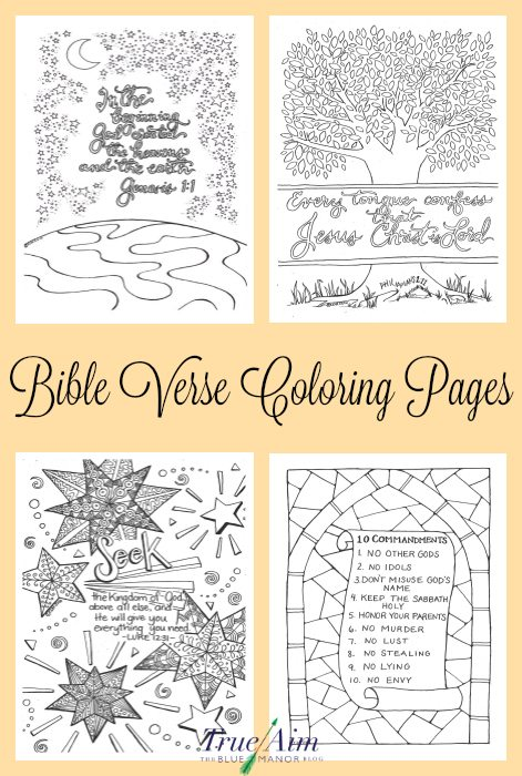 These beautiful Bible Verse Coloring Pages are perfect for anyone, even adults! :: www.thriftyhomeschoolers.com