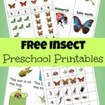 FREE Preschool Insect Pack