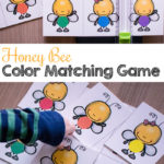 FREE Color Matching Honey Bee Game