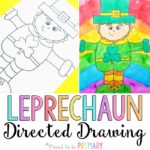 St. Patrick's Day Directed Drawing
