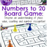 Free Numbers Board Game (1-20)