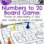 Free Numbers Board Game (1-20)