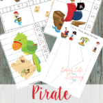 ARGH!  FREE Pirate Preschool Printables