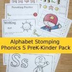 FREE Letter S Phonics PreK-K Pack