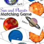 FREE Solar System Matching Game