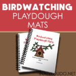 Free Birdwatching Playdough Mats