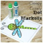 Free Creepy Crawly Dot Marker Pages