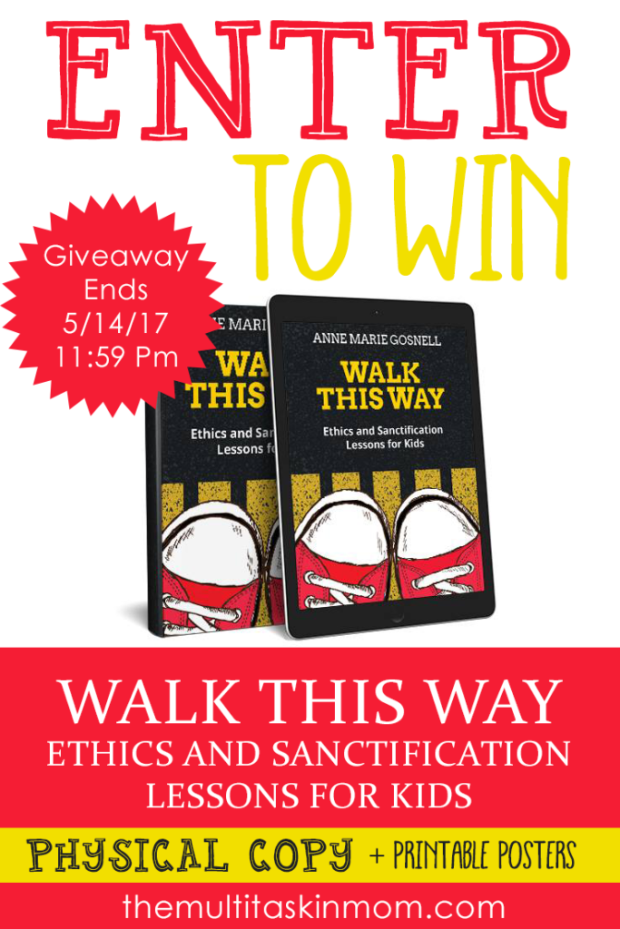 Looking for a great Bible Study and Lesson resource to teach your children? Check out Walk This Way and enter to win your own copy! :: www.thriftyhomeschoolers.com