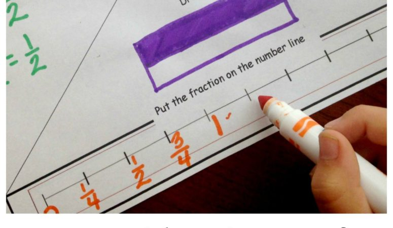 Free Fraction of the Day Printable