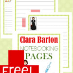 Free Red Cross Founder Clara Barton Notebooking Pages
