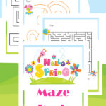Free Spring themed Mazes