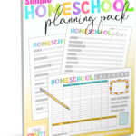Homeschool Planning Pack