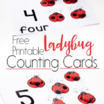 Free Ladybug Counting Cards